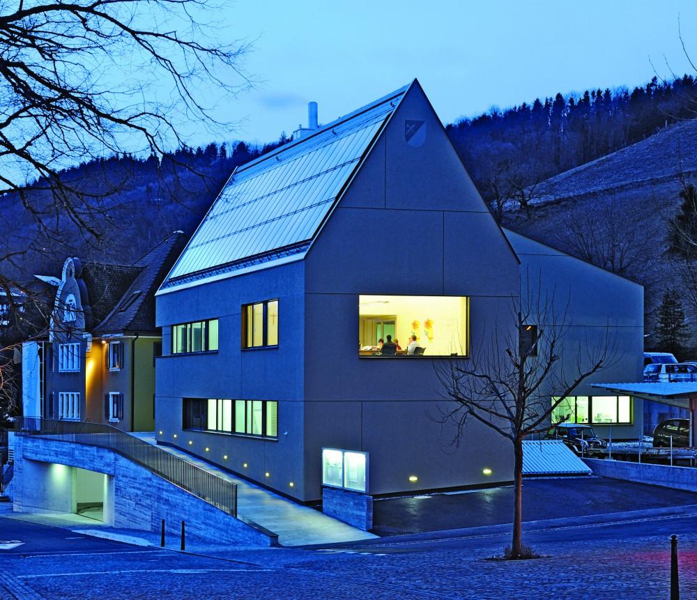 Neubau Gemeindeverwaltung, Mauren 2009