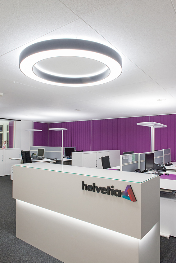 Umbau Helvetia Versicherungen Generalagentur,  Vaduz 2015