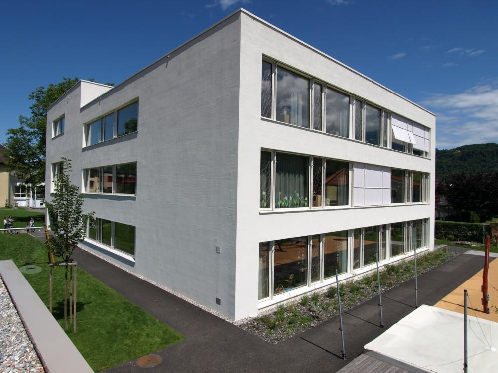 Neubau Kindergarten und Erweiterung PS, Ruggell 2015