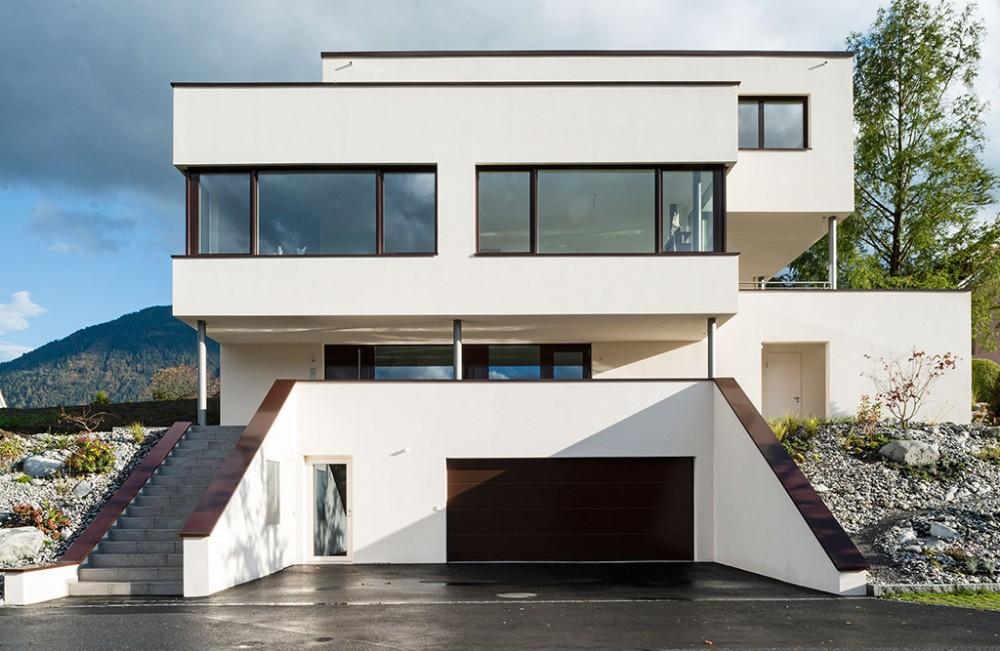 Neubau Einfamilienhaus mit Einliegerwohnung, Mauren 2014