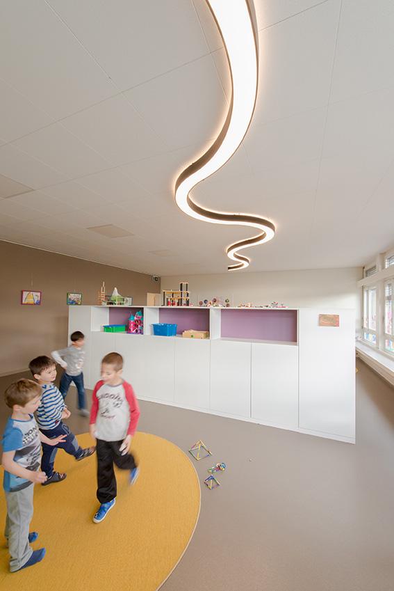 Umbau Tagesstrukturen Mauren, Jugendhaus Mauren 2015