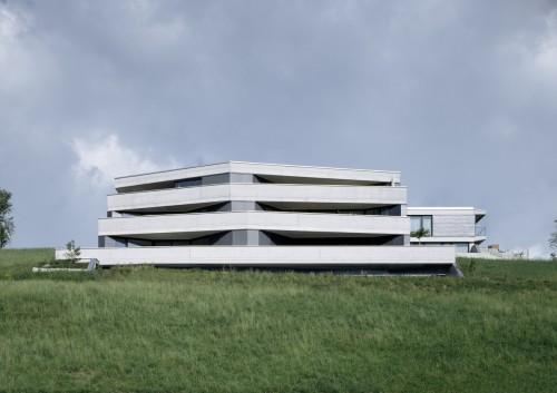 Neubau Mehrfamilienhaus, Mauren 2013