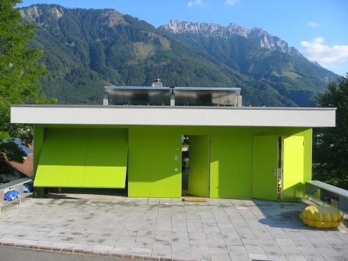 Neubau Einfamilienhaus, Mauren 2003