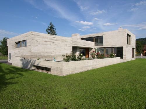 Neubau Einfamilienhaus in Sichtbeton, Ruggell 2010
