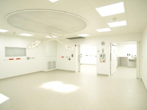 Sanierung OP Landesspital, Vaduz 2014