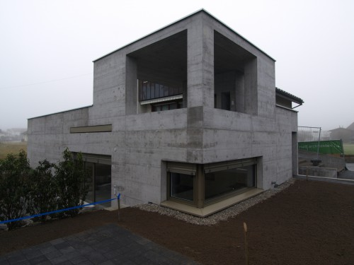 Anbau in Sichtbeton, Ruggell 2015