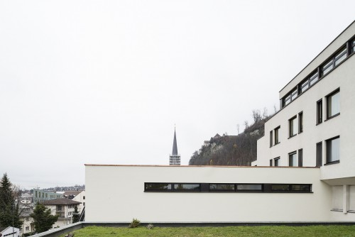 Neubau Notfall Landesspital, Vaduz 2014