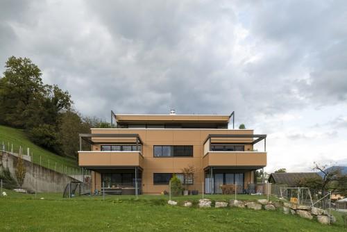 Neubau Mehrfamilienhaus, Mauren 2012