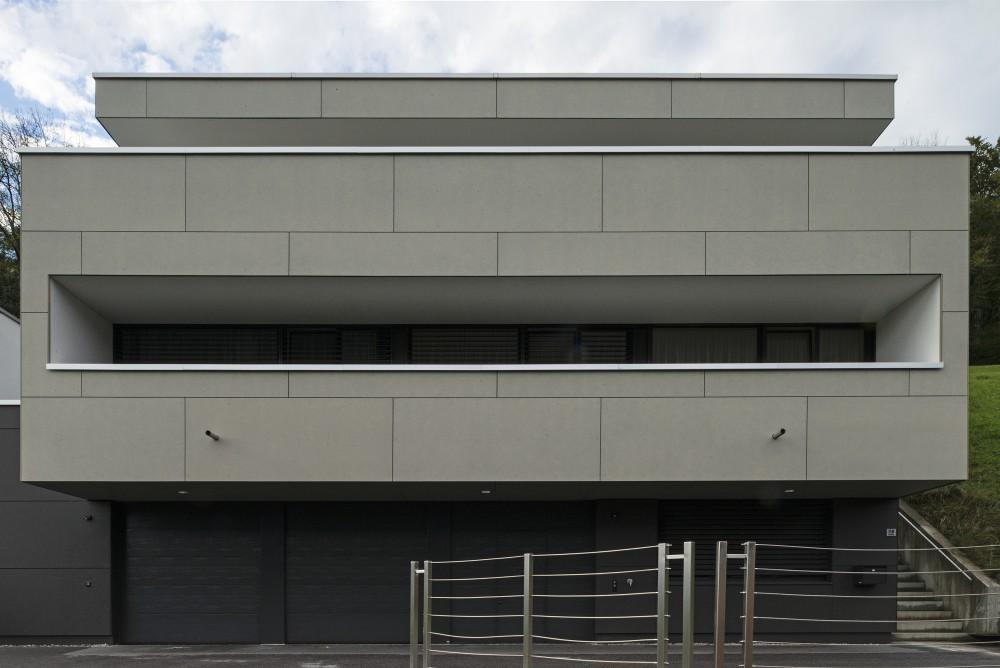 Neubau Einfamilienhaus, Mauren 2012