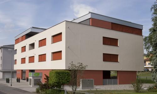 Neubau Mehrfamilienhaus 59+, Mauren 2006