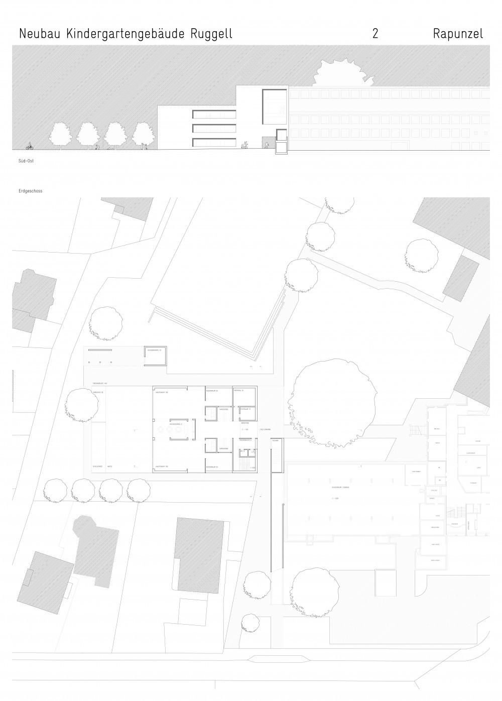 WB Kindergarten Ruggell, 2013 1. Preis