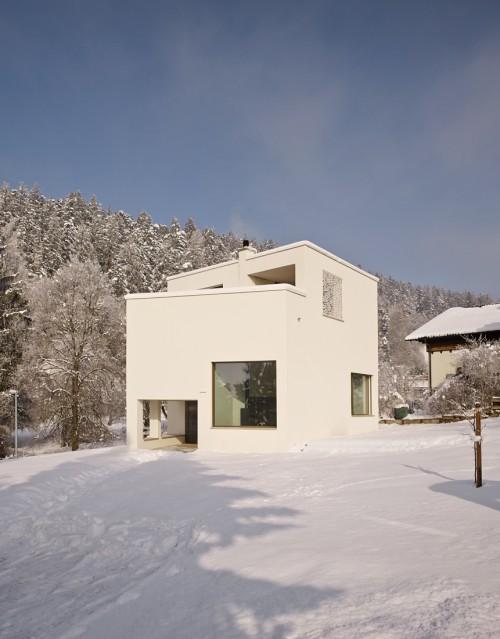 Neubau Einfamilienhaus, Mauren  Januar 2017