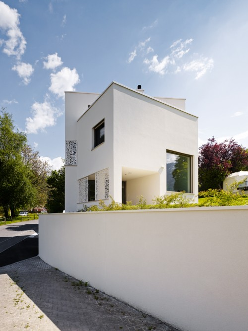 Neubau Einfamilienhaus, Mauren 2017