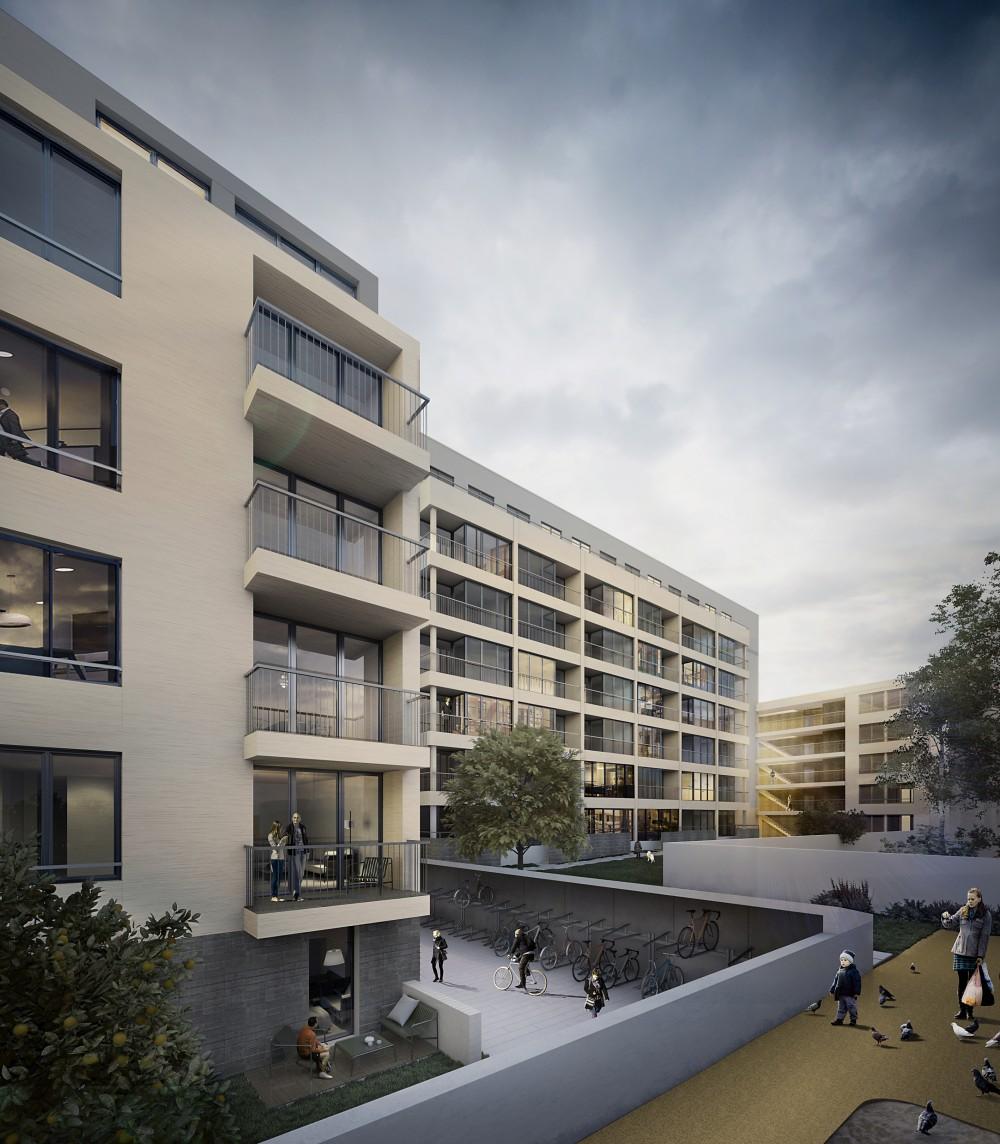 Neubau 203 Wohnungen Erzgiesserei- und Linprunstrasse, München 2017 – 2020