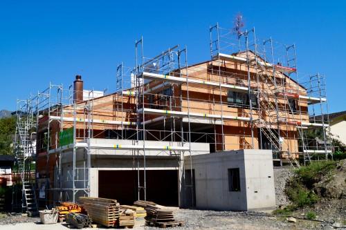 Neubau Einfamilienhaus, Gamprin 2018