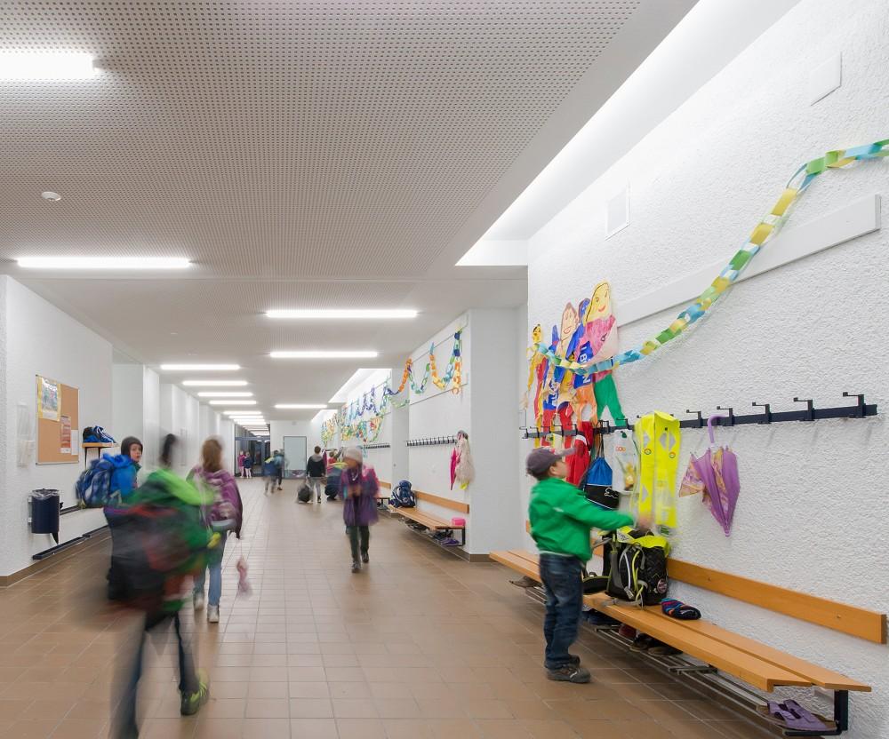 Sanierung Primarschule, Mauren 2017
