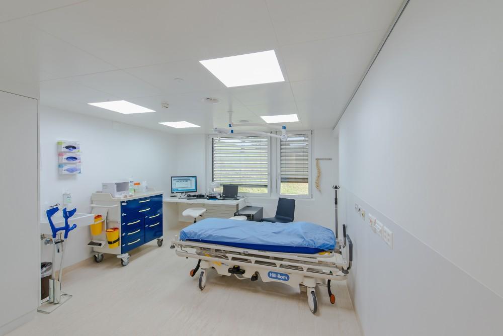 Landesspital Umbau Chirurgie, Vaduz 2016