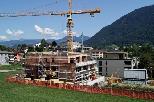 Neubau Mehrfamilienhaus, Mauren 2018