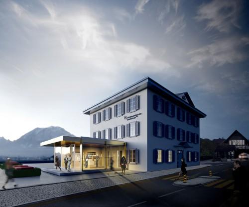 Umgestaltung Liechtensteinische Landesbank Geschäftsstelle Balzers, 2018