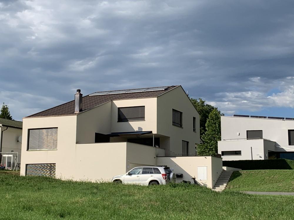 Neubau Einfamilienhaus, Gamprin 2019