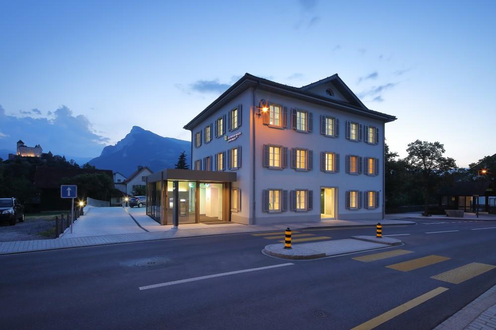 Umgestaltung Liechtensteinische Landesbank Geschäftsstelle Balzers, 2018/2019