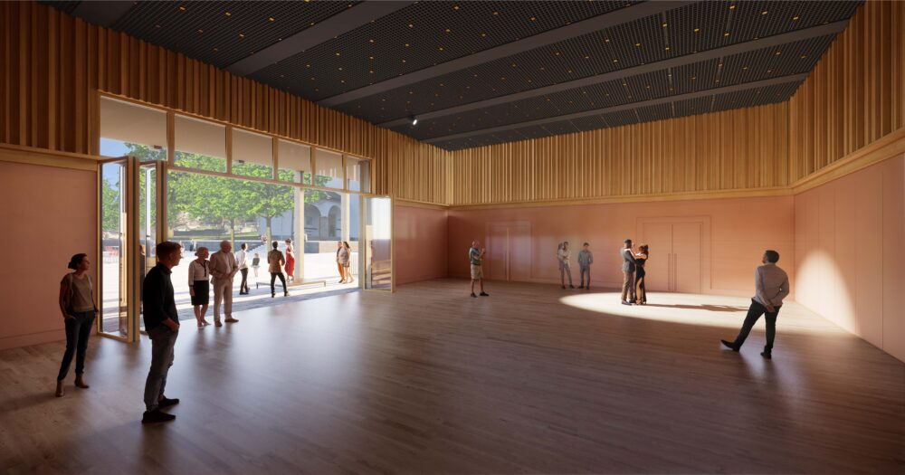 Wettbewerb Begegnungszentrum Nendeln, 2. Preis, 2020