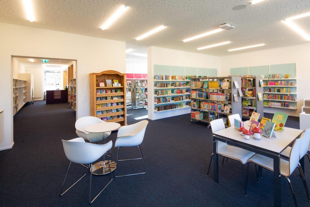 Erneuerung Gemeindebibliothek Mauren, 2020
